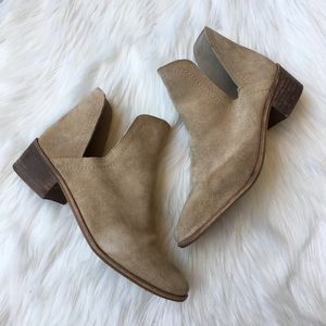 Coconuts by Matisse Suede Cut Out Booties Boots